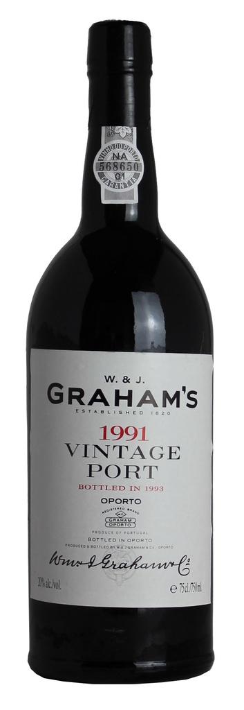 1991 Graham's Vintage Port