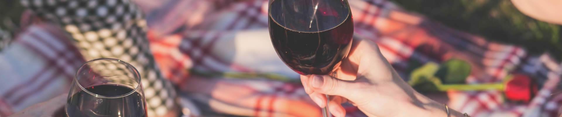 Rioja wine enjoyed on a picnic